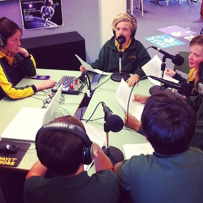 Footy Frenzy Live from our Walkers Road Studio